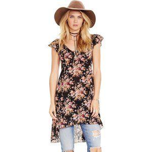 Denim&Supply  RL Floral Print Gauze Dress